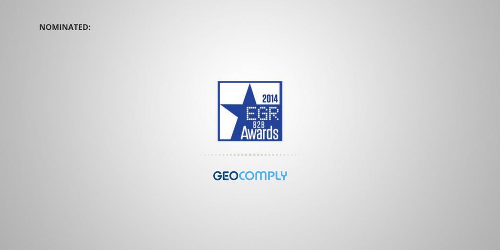 EGR 2014 GeoComply Location Compliance