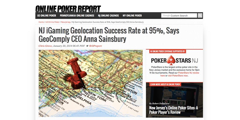 Oline Poker Report Anna Sainsbury