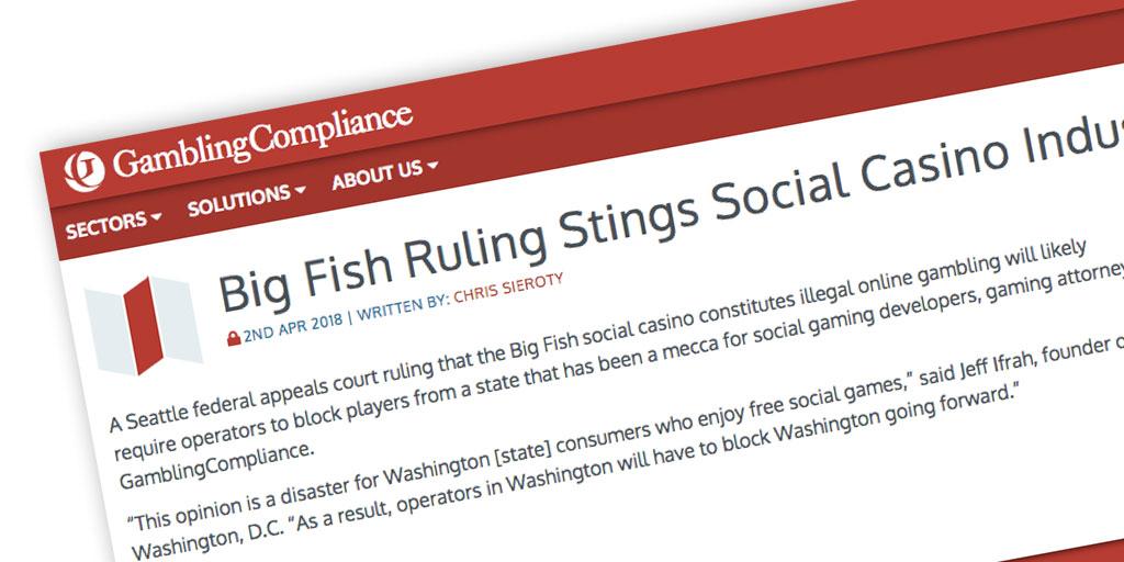 Big Fish Ruling
