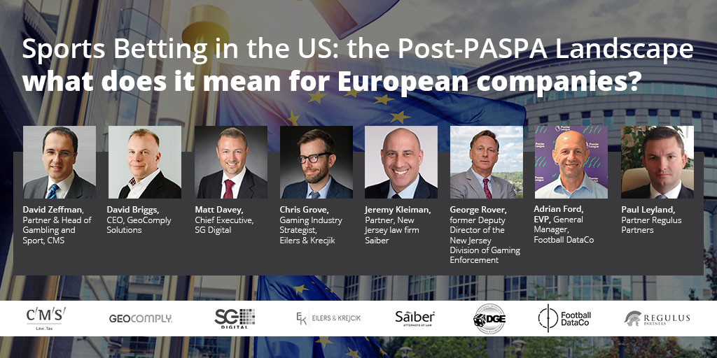 Sports Betting in the US: the Post-PASPA Landscape what does it mean for European companies?