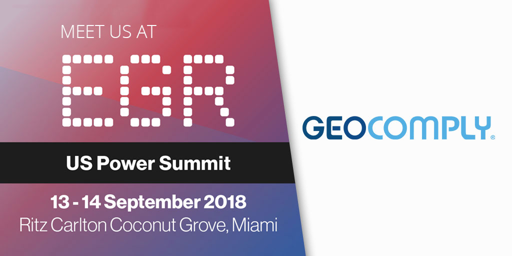 GeoComply at EGR US Power Summit