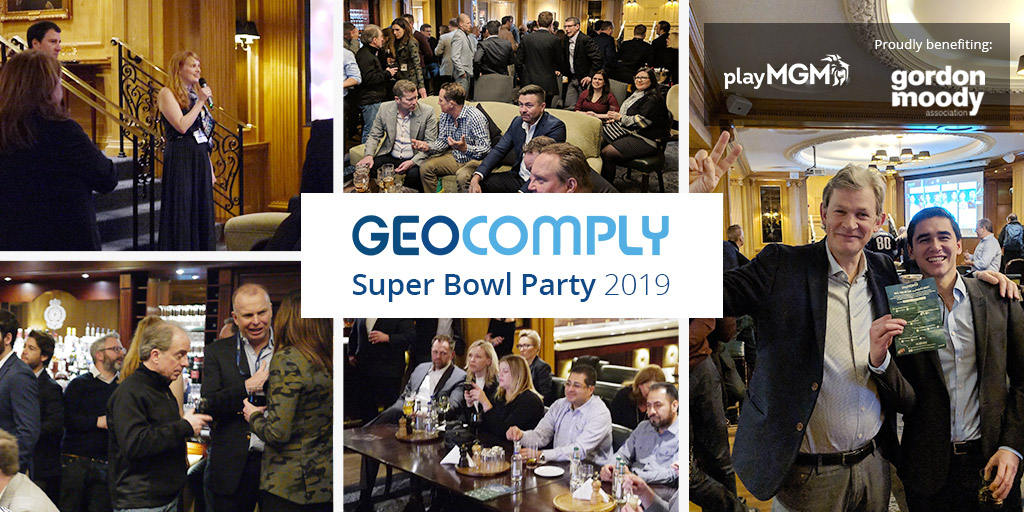 GeoComply Super Bowl Party 2019