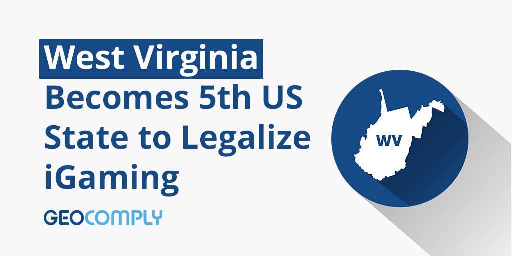 West Virginia the 5th US state to legalize iGaming