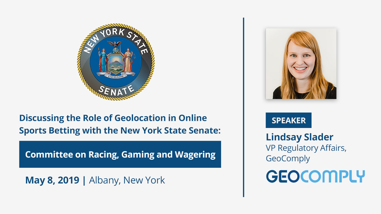GeoComply will be testifying at the New York State Senate Hearing - Committee on Racing, Gaming and Wagering