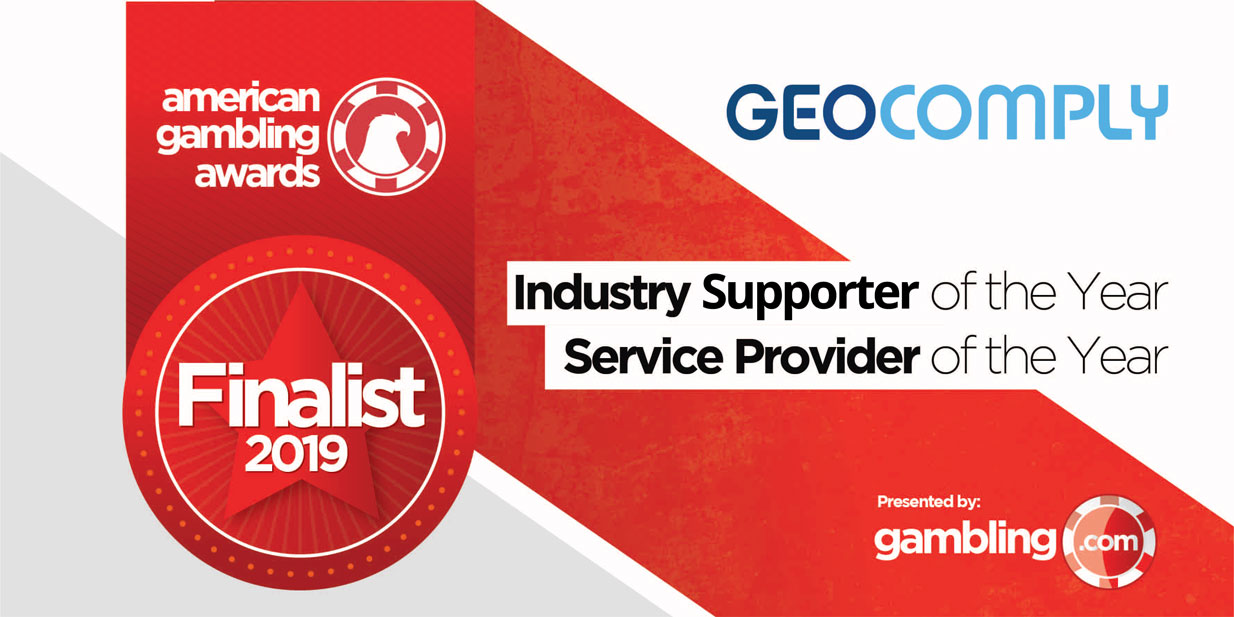 GeoComply's shortlisted in two categories for American Gambling Awards 2019