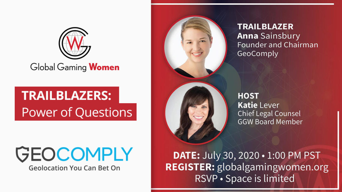 Anna Sainsbury will be speaking at Global Gaming Women Webinar