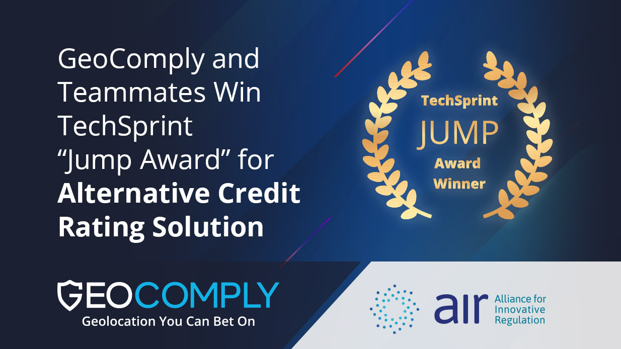 GeoComply and Teammates win TechSprint Jump Award