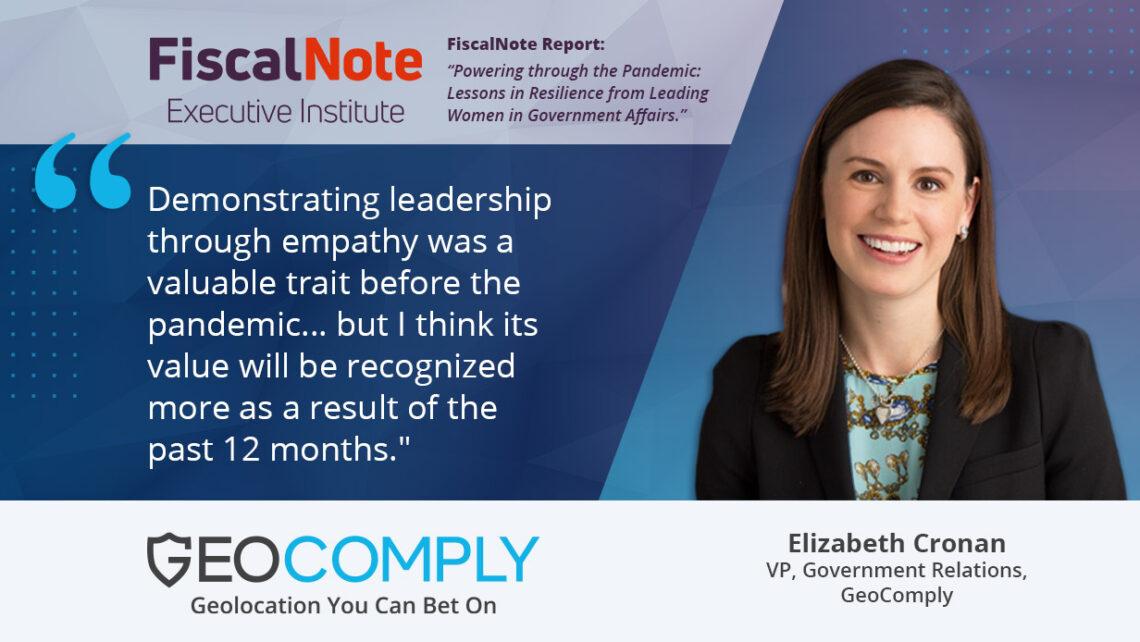 FiscalNote Report - Elizabeth Cronan